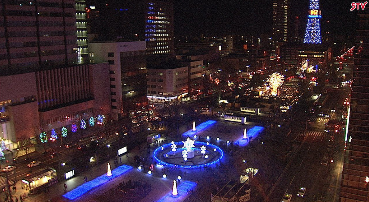 STV札幌大通公園西4丁目ライブカメラ(北海道札幌市中央区)