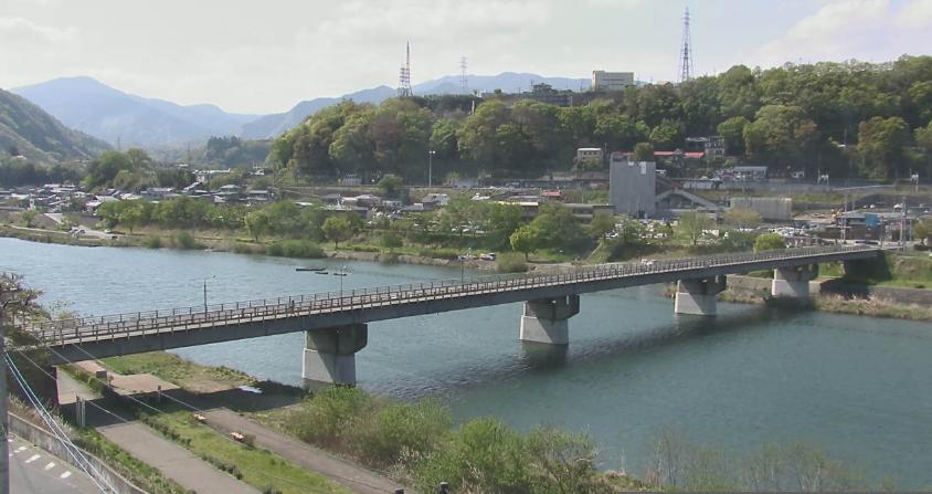 桂川橋ライブカメラ(山梨県上野原市)