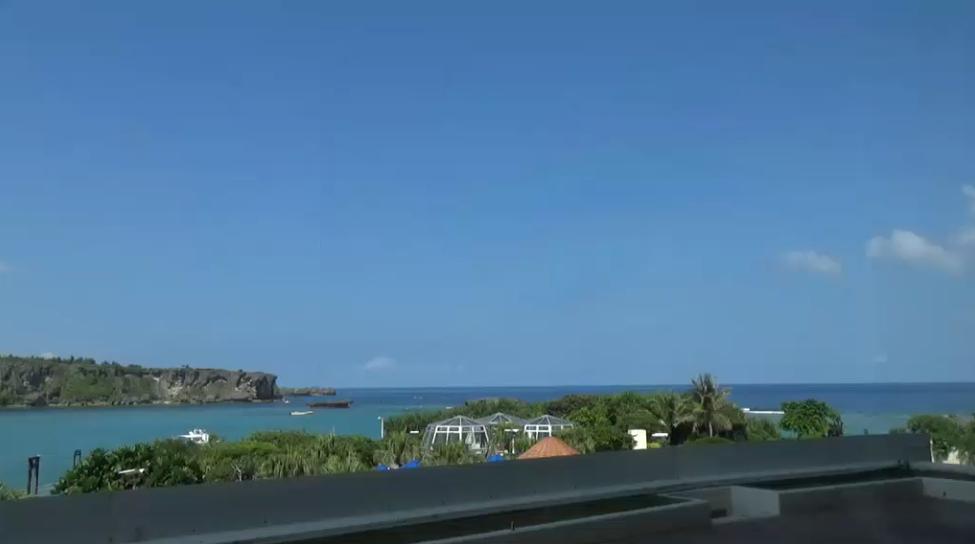 ANAインターコンチネンタル万座ビーチリゾートライブカメラ(沖縄県恩納村瀬良垣)