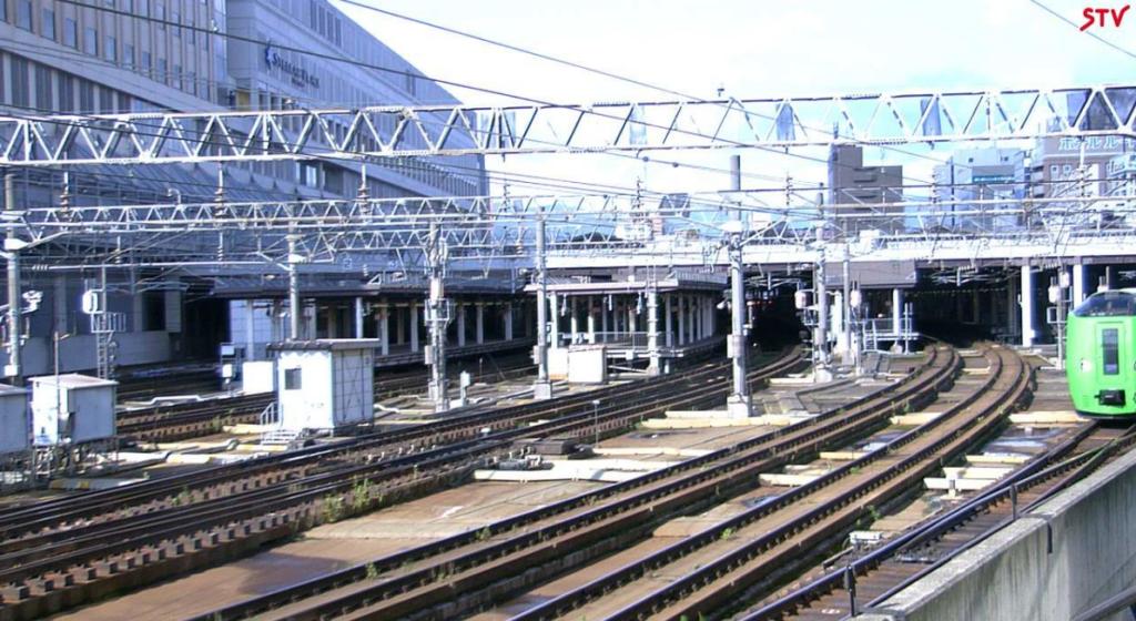 STV札幌駅ライブカメラ(北海道札幌市北区)