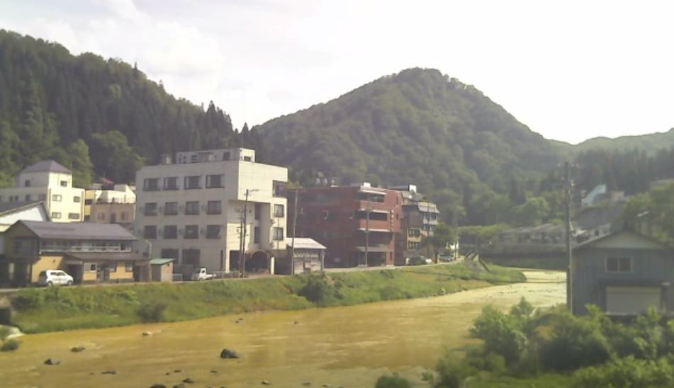 銅山川・三角山