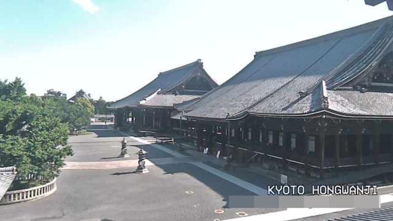 本願寺ライブカメラ(京都府京都市下京区)