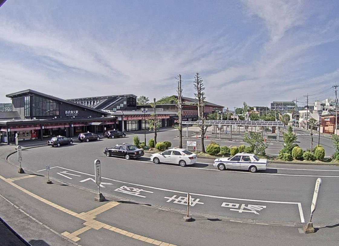 西武秩父駅前ライブカメラ(埼玉県秩父市野坂町)