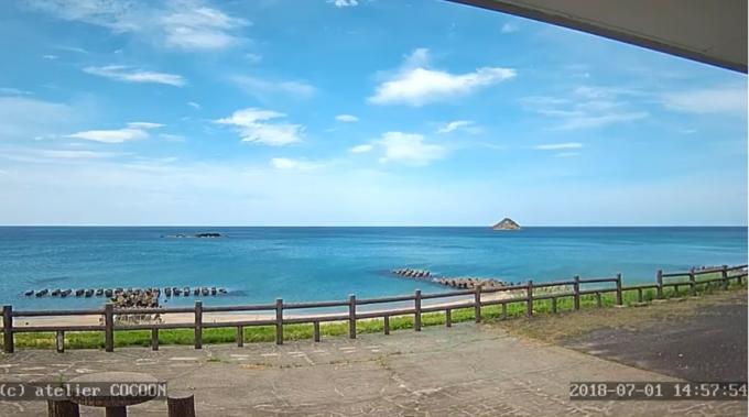 鳥取市伏野海岸ライブカメラ(鳥取県鳥取市伏野)
