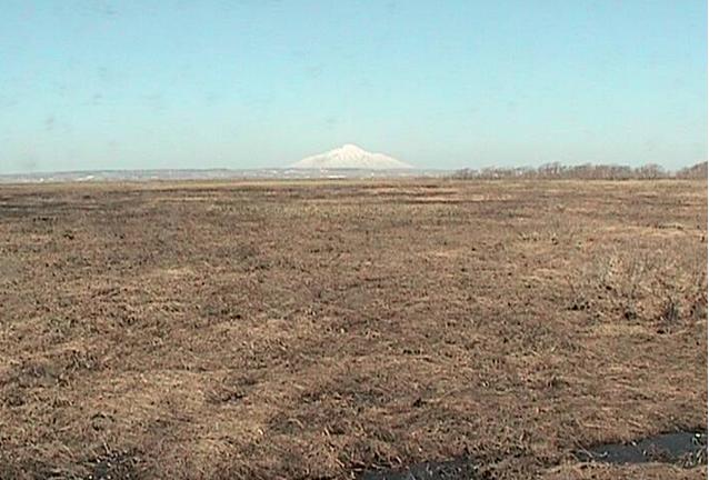 サロベツ湿原・利尻山