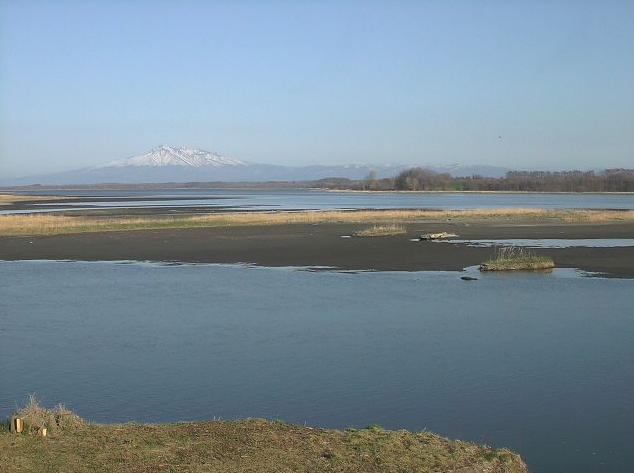 濤沸湖・斜里岳