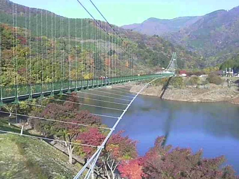 もみじ谷大吊橋ライブカメラ(栃木県那須塩原市関谷)