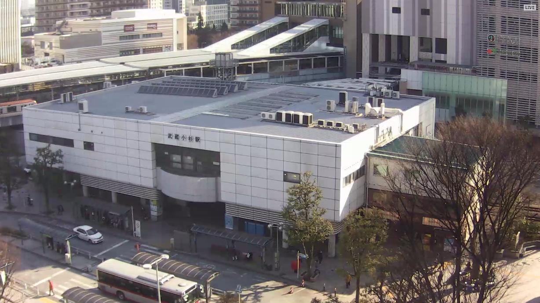 武蔵小杉駅ライブカメラ(神奈川県川崎市中原区) Ustream版