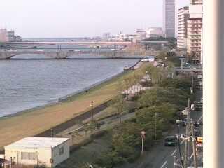 萬代橋・信濃川