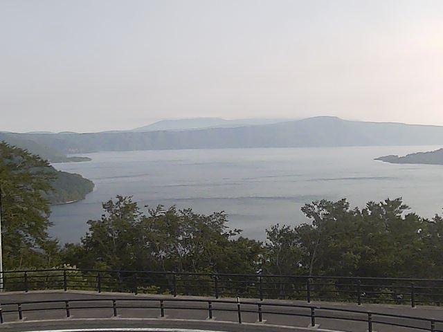 発荷峠からみた十和田湖