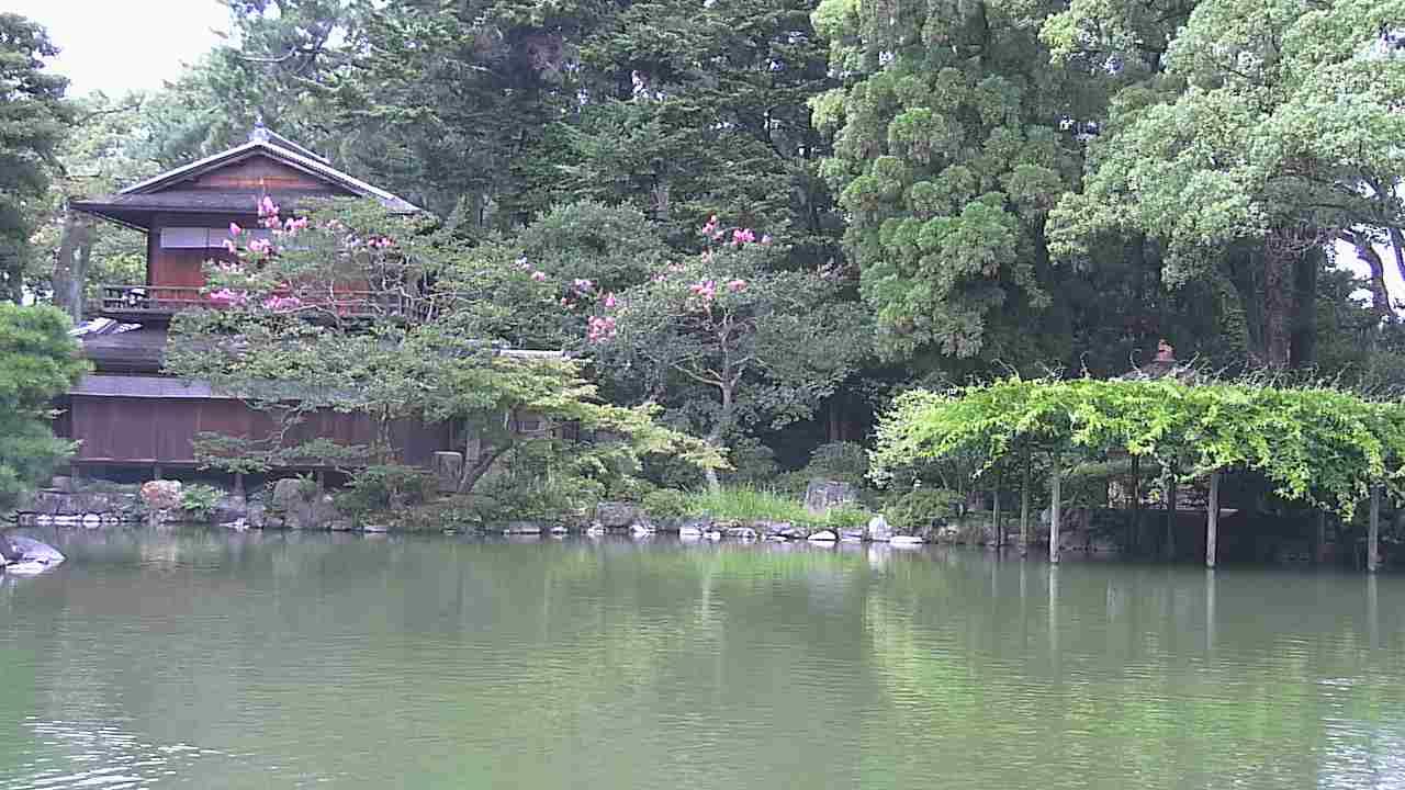 京都御苑拾翠亭