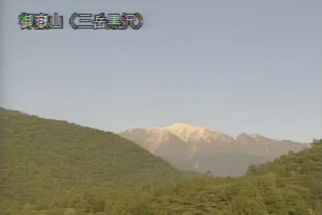 三岳黒沢から御嶽山