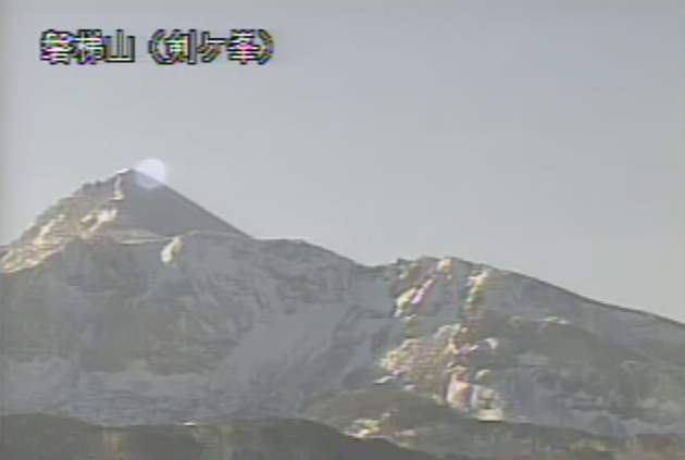 剣ヶ峰から磐梯山