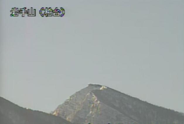 柏台から岩手山