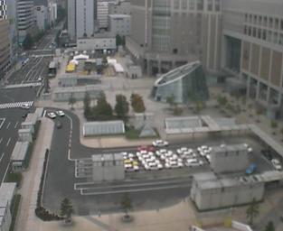 JRタワー札幌エスタから札幌駅前広場(札幌南口)