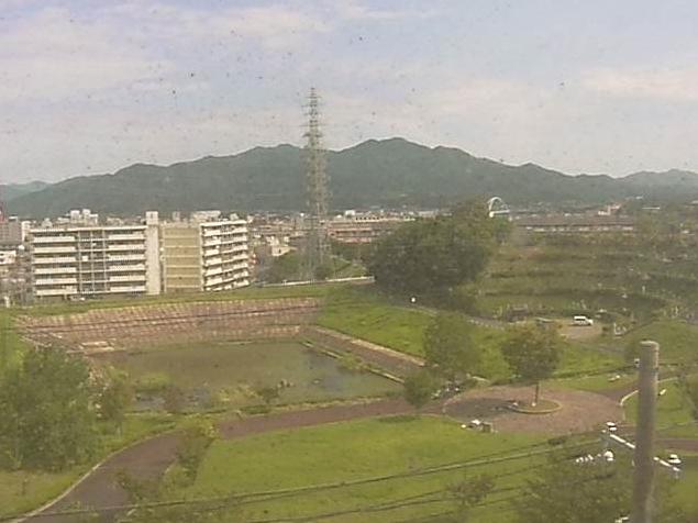 北関西Ⅱメディアセンター福知山屋上から福知山市街