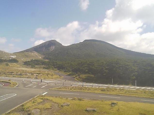 えびの高原からみた霧島連山
