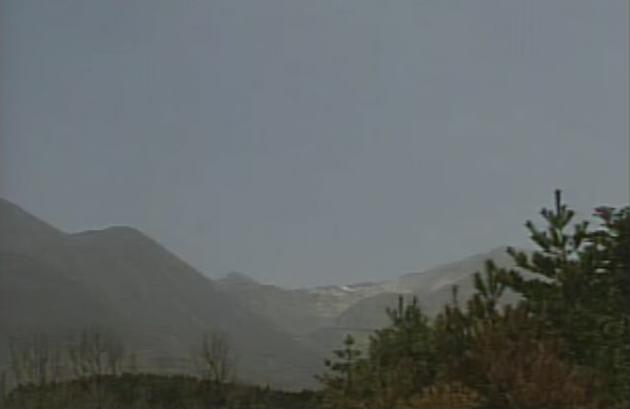 上野から九重山(中岳・星生山)
