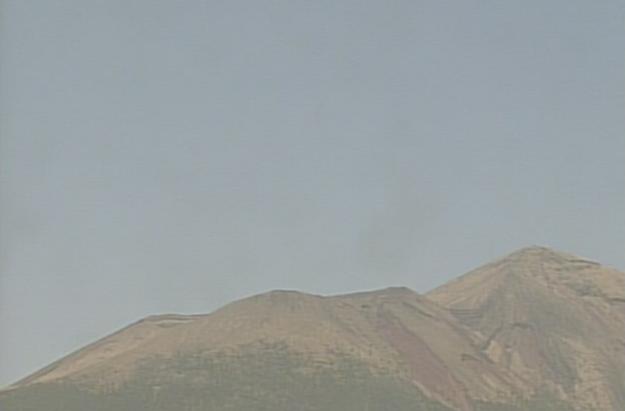 御鉢から霧島山