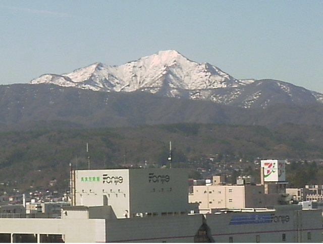 柏崎市役所から米山