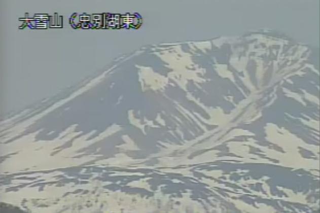 忠別湖東から大雪山