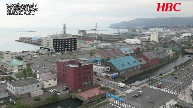 小樽運河・小樽港