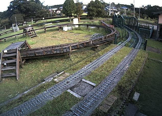 日本庭園鉄道5インチゲージ