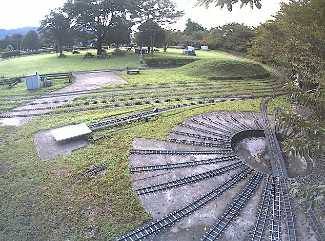 日本庭園鉄道操車場