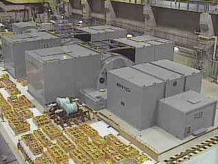 島根原子力発電所1号機タービン建物内