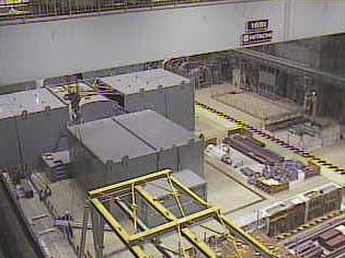島根原子力発電所2号機タービン建物内