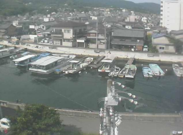 香西ポンプ場屋上から愛染川