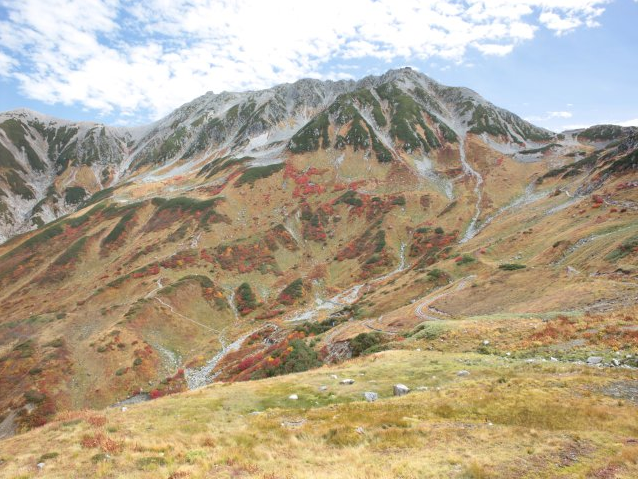 立山室堂山荘から立山