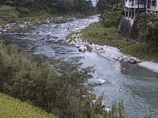 吾北中央公民館前から吾北地区付近の上八川川