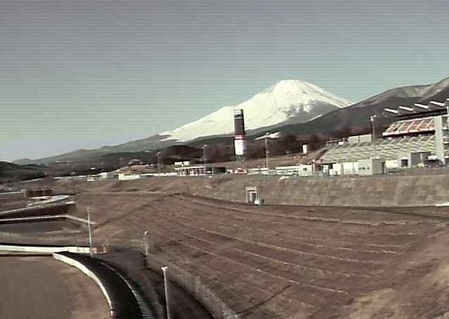 富士スピードウェイから富士山