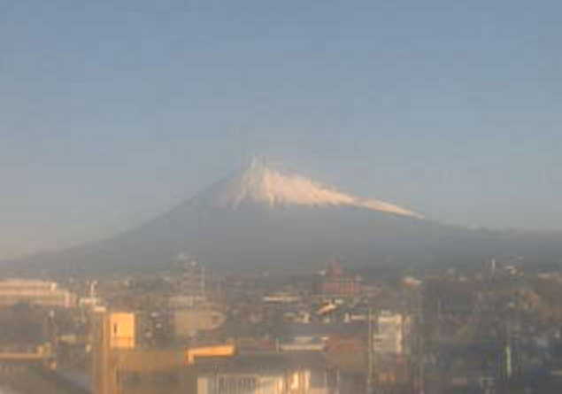 静岡インターネットから富士山