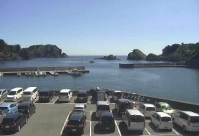 中木マリンセンター前から駿河湾が見えるライブカメラ。