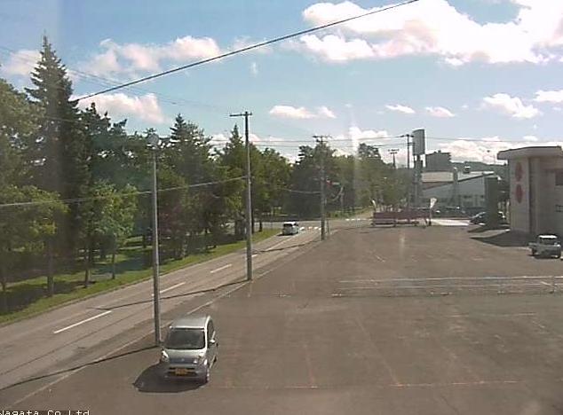 永田建設から北見石北大通が見えるライブカメラ。