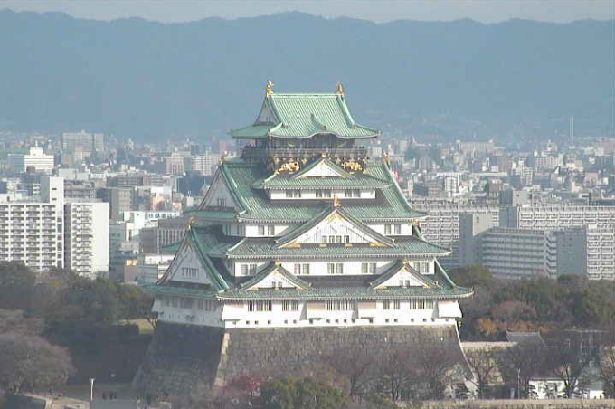 OMM大阪城ライブカメラ(大阪府大阪市中央区)