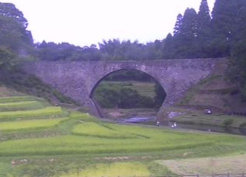 通潤橋ライブカメラ(熊本県山都町長原)