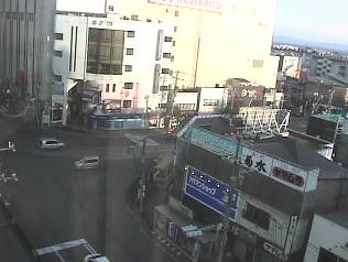 HTB函館支社から五稜郭公園入口交差点・函館市電路面電車