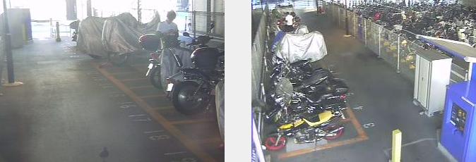 椎名橋南オートバイ専用駐車場