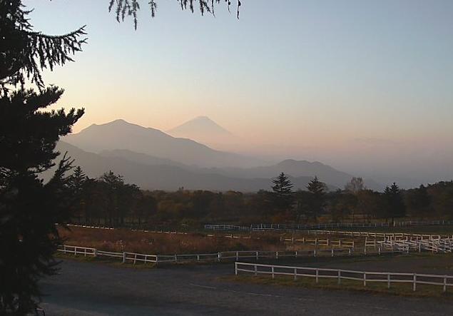 清泉寮から八ヶ岳牧場・清里高原