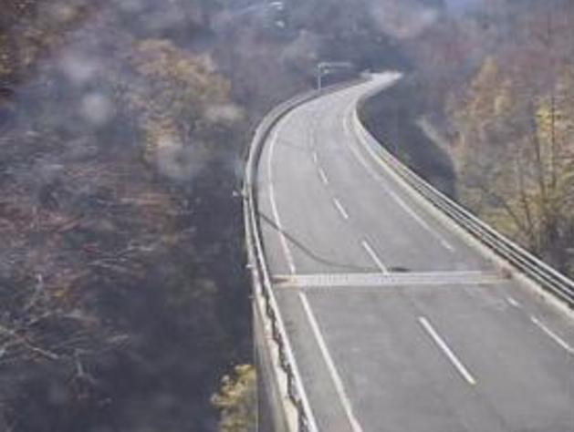 秋ノ宮大橋から国道108号