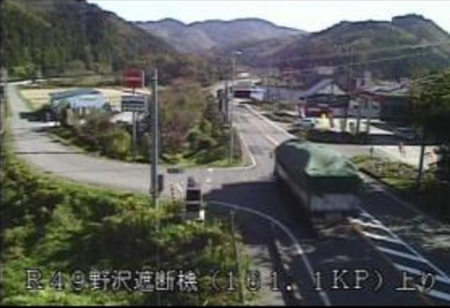 西会津野沢から国道49号