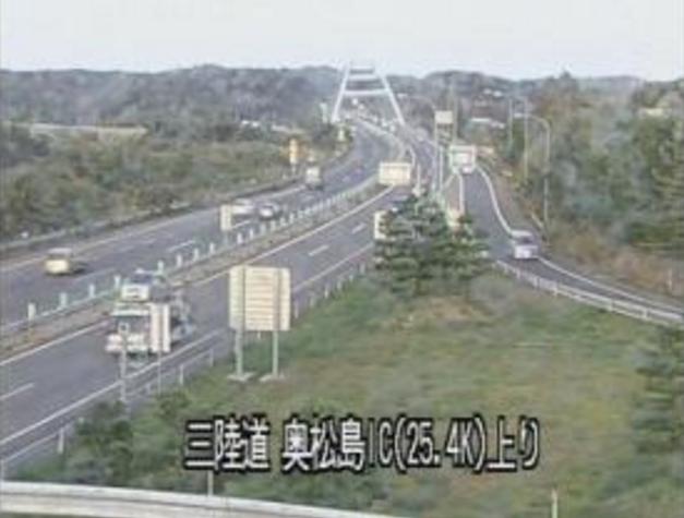 鳴瀬・奥松島ICから三陸自動車道(三陸道)