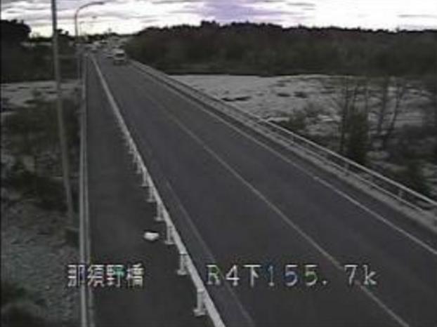 那須野橋から国道4号・蛇尾川
