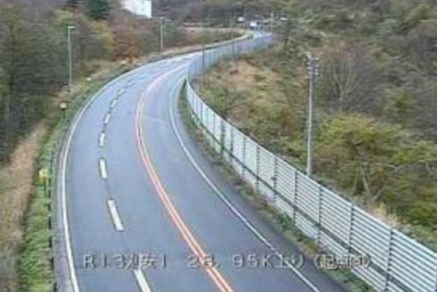 刈安東から国道13号