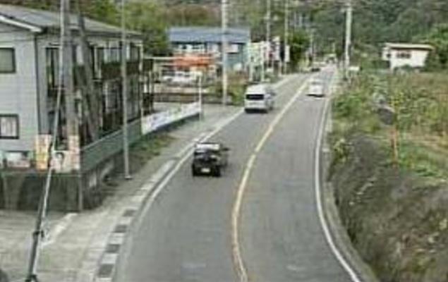 田野倉から国道139号