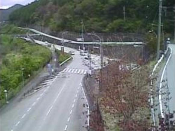 下呂トンネル北地点から国道41号