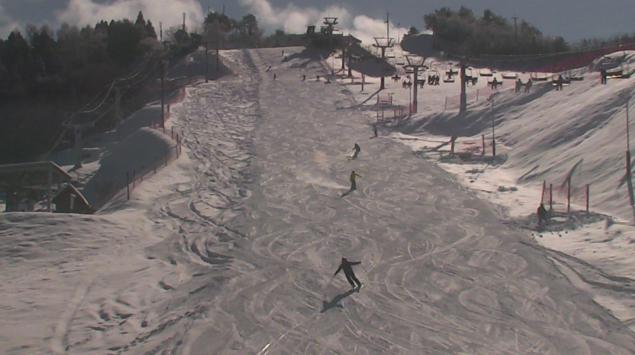 井川スキー場腕山山麓